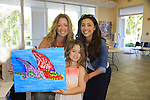 General Hospital Lindsey Morgan paints with Susan Haskell's daughter Marlowe & donates time at SoapFest's Celebrity Weekend - Art for Autism when the actors & kids make paintings for auction to benefit Autism on November 10, 2012 Marco Island, Florida. For info www.autism-society.org or www.autismspeaks.org. (Photo by Sue Coflin/Max Photos)
