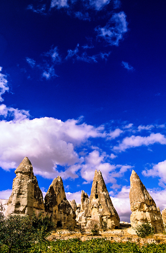 Fairy Chimneys, Goreme, Cappadocia, Turkey