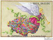 Ingrid, HOLY FAMILIES, HEILIGE FAMILIE, SAGRADA FAMÍLIA, paintings+++++,USISGAI15C,#XR# angels ,vintage