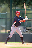 October 6, 2009:  Designated Hitter J.P. Ramirez of the Washington Nationals organization during an Instructional League game at Disney's Wide World of Sports in Orlando, FL.  Ramirez was selected in the 15th round of the 2008 MLB Draft.  Photo by:  Mike Janes/Four Seam Images