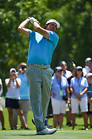 Phil Mickelson (USA) watches his tee shot on 2 during round 1 of the WGC FedEx St. Jude Invitational, TPC Southwind, Memphis, Tennessee, USA. 7/25/2019.<br /> Picture Ken Murray / Golffile.ie<br /> <br /> All photo usage must carry mandatory copyright credit (© Golffile | Ken Murray)