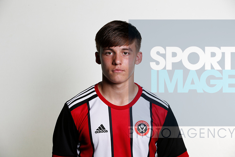 George Broadbent academy photocall at the Steelphalt Academy, Sheffield. Picture date 22nd August 2017. Picture credit should read: Simon Bellis/Sportimage