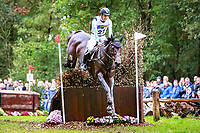 AUS-Christopher Burton rides Quality Purdy during the Cross Country. 2017 NED-Military Boekelo CCIO3* FEI Nation Cup Eventing. Saturday 7 October. Copyright Photo: Libby Law Photography