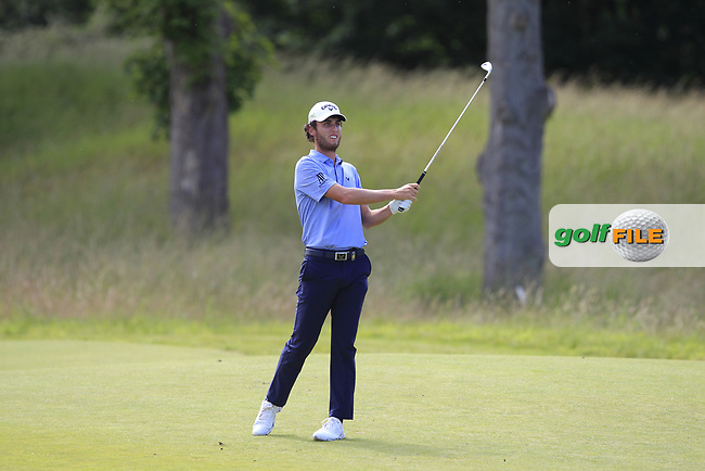 Renato Paratore (ITA) on the 2nd during Round 4 of the Aberdeen Standard Investments Scottish Open 2019 at The Renaissance Club, North Berwick, Scotland on Sunday 14th July 2019.<br /> Picture:  Thos Caffrey / Golffile<br /> <br /> All photos usage must carry mandatory copyright credit (© Golffile | Thos Caffrey)