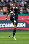 Jonathan in action during the Serie A football match Inter Milan vs Cagliari at Milan, on February 23, 2014.  <br /> <br /> Pierre Teyssot