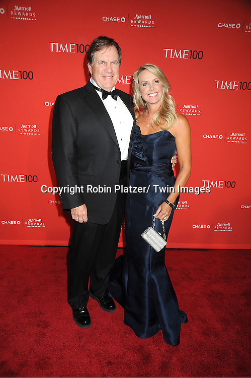 Bill Belichek and Linda Holiday attends The Time 100 Most Influential People in the World Gala on April 24, 2012 at Frederick P Rose Hall at Lincoln Center in New York City. .
