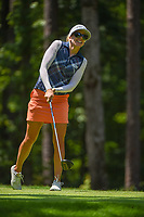 Pernilla Lindberg (SWE) watches her tee shot on 2 during round 1 of the U.S. Women's Open Championship, Shoal Creek Country Club, at Birmingham, Alabama, USA. 5/31/2018.<br /> Picture: Golffile | Ken Murray<br /> <br /> All photo usage must carry mandatory copyright credit (&copy; Golffile | Ken Murray)