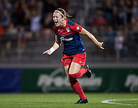 Boyds, MD - April 18, 2015: The Washington Spirit defeated FC Kansas City 3-1 during their National Women's Soccer League (NWSL) match at Maryland SoccerPlex.
