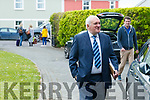 Bertie Ahern arriving for the Women in Media event, in Ballybunion on Sunday last.