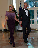 United States Secretary of Education Betsy DeVos and Richard DeVos arrive for the State Dinner hosted by United States President Donald J. Trump and First lady Melania Trump in honor of Prime Minister Scott Morrison of Australia and his wife, Jenny Morrison, at the White House in Washington, DC on Friday, September 20, 2019.<br /> Credit: Ron Sachs / Pool via CNP