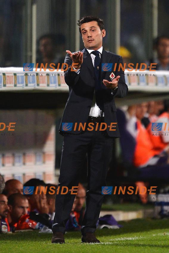 """Vincenzo Montella Fiorentina.Firenze 25/9/2012 Stadio """"Artemio Franchi"""".Football Calcio Serie A 2012/2013.Fiorentina Vs Juventus.Foto Andrea Staccioli Insidefoto"""