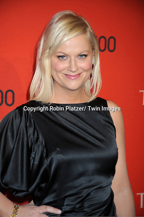 honoree Amy Poehler attending The Time 100 Most Influential People in the World Gala on April 26, 2011 at Frederick P Rose Hall in The Time Warner Center in New York City.