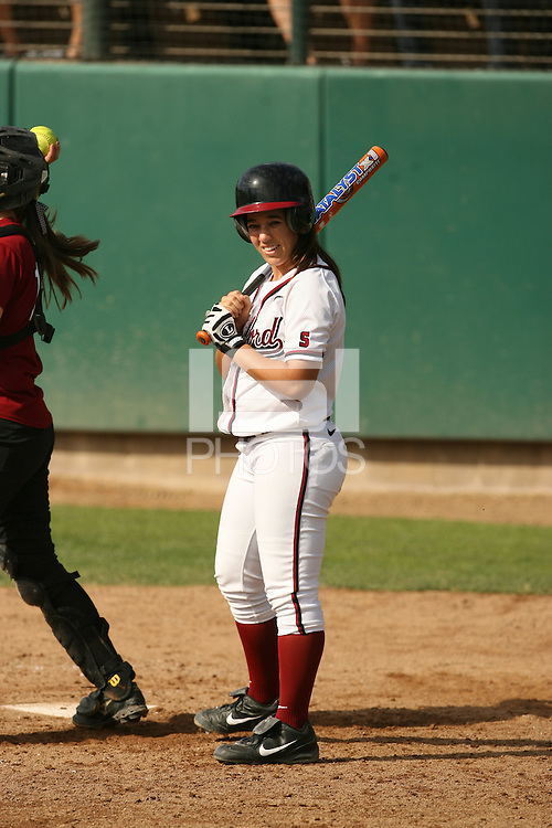 4 November 2007: Erikka Moreno during Stanford's exhibition game against Santa Clara at Boyd and Jill Smith Family Stadium in Stanford, CA.