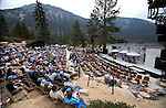 Hundreds of people attended the 17th annual Lake Tahoe Summit conference at Sand Harbor, near Incline Village, Nev., on Monday, Aug. 19, 2013. The event brings representatives together from agencies around Nevada and California to protect Lake Tahoe. <br /> Photo by Cathleen Allison