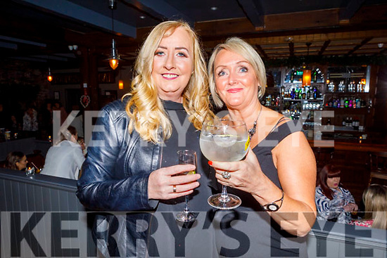 Catherine White and Lorraine Flanagan attending the Connect Kerry Women's Christmas in Style lunch in the Ashe Hotel on Sunday.