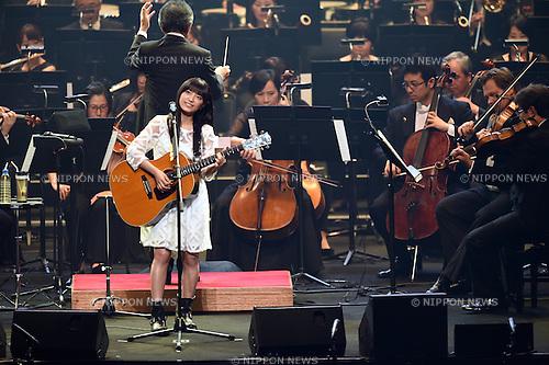 miwa, <br /> JUNE 12, 2015 - : JOC Olympics concert 2015 at Tokyo International Forum in Tokyo, Japan. (Photo by AFLO SPORT)
