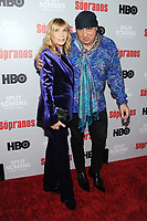 NEW YORK, NY - January 9: Maureen Van Zandt and Steven Van Zandt at HBO And Split Screens Festival The Sopranos 20th Anniversary panel discussion at the SVA Theatre in New York City on January 9, 2019. <br /> CAP/MPI/JP<br /> ©JP/MPI/Capital Pictures