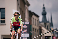 Filippo 'Pipo' Pozzato (ITA/Wilier Triestina-Selle Italia) at sign-on<br /> <br /> 3rd Dwars Door Het hageland 2018 (BEL)<br /> 1 day race:  Aarschot > Diest: 198km
