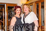 Joan Pototzki and Marion Fitzgerald enjoying a night out at Bella Bia's on Saturday