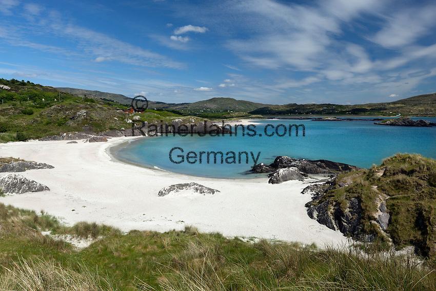 Ireland, County Kerry, Iveragh Peninsula, Ring of Kerry, Derrynane Bay beach view | Irland, County Kerry, Iveragh Halbinsel, Ring of Kerry, Strand an der Derrynane Bay