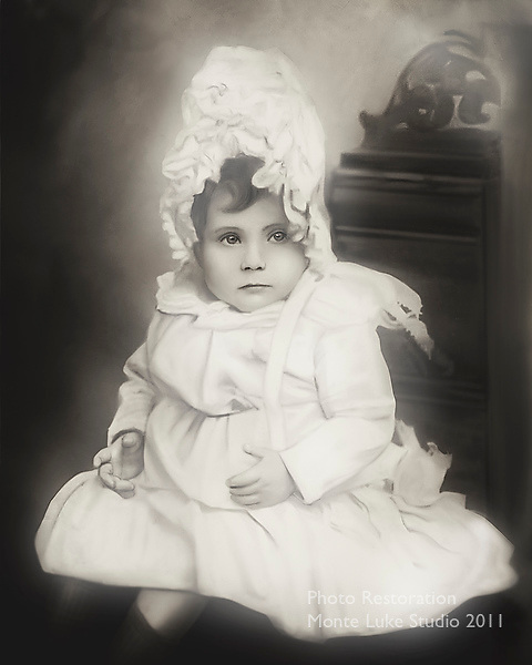 Photo Restoration by Monte Luke Photography Studio ,Sydney,Australia