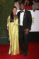 LOS ANGELES - JAN 15:  Kristen Baker Bellamy, Bill Bellamy at the 49th NAACP Image Awards - Arrivals at Pasadena Civic Center on January 15, 2018 in Pasadena, CA
