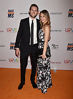 BEVERLY HILLS, CA - MAY 10: Ashley Drew Fisher (R) and guest attend the 26th Annual Race to Erase MS Gala at The Beverly Hilton Hotel on May 10, 2019 in Beverly Hills, California.<br /> CAP/ROT<br /> &copy;ROT/Capital Pictures