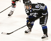 Will Suter (Bentley - 10) - The visiting Bentley University Falcons defeated the Northeastern University Huskies 3-2 on Friday, October 16, 2015, at Matthews Arena in Boston, Massachusetts.
