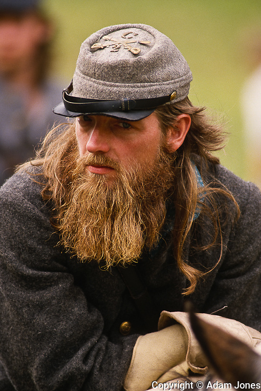 Civil War reenactors for the Battle of Perryville, Kentucky, the largest Civil War battle in KY.