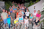 Bernard O'Sullivan seated front centre from Scarriff, Waterville celebrated his 40th birthday with family and friends at QC's Bar & Restaurant in Cahersiveen on Friday night.