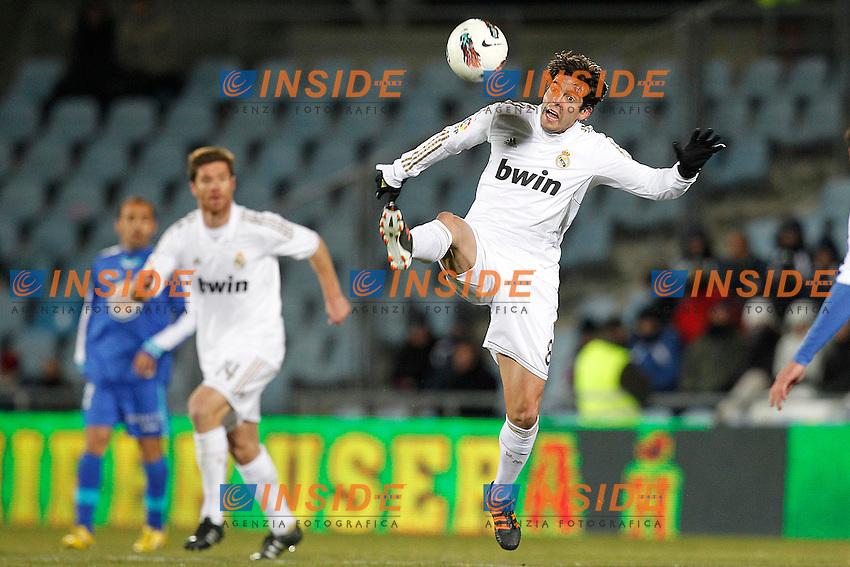 Real Madrid's Ricardo Kaka during la Liga match on February 4th 2012. ..Photo: Insidefoto / Cesar Cebolla / ALFAQUI .Liga Spagna 2011/2012 Getafe Vs Real Madrid.Italy Only