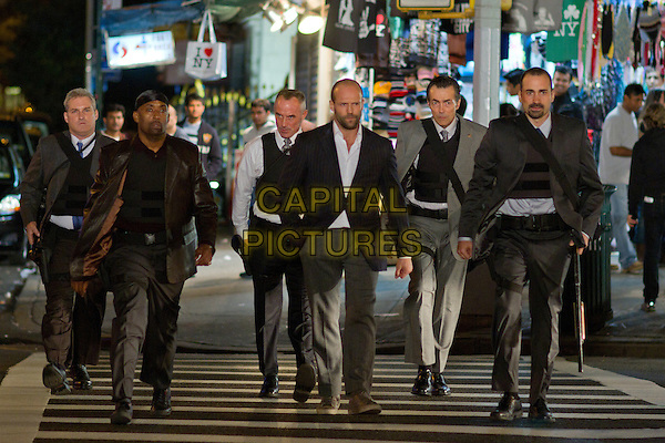 James Colby, Barry Bradford, Robert John Burke, Jason Statham, Matt OToole & Jay Giannone.in Safe.*Filmstill - Editorial Use Only*.CAP/FB.Supplied by Capital Pictures.