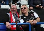 Sheffield Utd fans for fans feature during the championship match at St Andrews Stadium, Birmingham. Picture date 21st April 2018. Picture credit should read: Simon Bellis/Sportimage