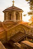 SERBIA, Belgrade, Church near the Belgrade Fortress at sunset, Eastern Europe