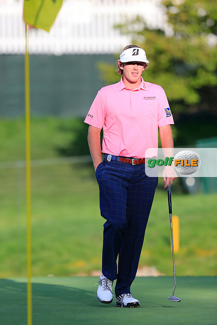 Brandt Snedeker (USA) during Monday's Practice Day of the 95th PGA Championship 2013 held at Oak Hills Country Club, Rochester, New York.<br /> 5th August 2013.<br /> Picture: Eoin Clarke www.golffile.ie