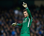 Ederson of Manchester City during the premier league match at the Etihad Stadium, Manchester. Picture date 3rd December 2017. Picture credit should read: Andrew Yates/Sportimage