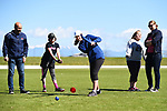 NELSON, NEW ZEALAND - Nelson Cricket Women's Day. Saxton Oval, Richmond, New Zealand. Sunday 14 October 2018. (Photo by Chris Symes/Shuttersport Limited)