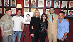 Stacy Keach, Thomas Sadoski, Judith Light, Stockard Channing, Jon Robin Baitz & Joe Mantello.attending the celebration for Jon Robin Baitz receiving a Caricature on Sardi's Hall of Fame in New York City on 5/31/2012
