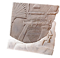 Pictured: The ancient carving<br /> Re: An Egyptian artwork that was kept in storage for over forty years has been identified as an extremely rare depiction of one of Egypt's few female pharaohs.<br /> The relief sculpture was discovered at Swansea University's Egypt Centre during a student handling session.<br /> It depicts Hatshepsut, one of just five women known to have ruled the empire.<br /> It came to the city in 1971 as part of Sir Henry Wellcome's collection.<br /> The discovery was made by Egyptology lecturer Dr Ken Griffin on International Women's Day.