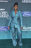 17 November 2019 - Las Vegas, NV - Tiana Major9. 2019 Soul Train Awards Red Carpet Arrivals at Orleans Arena. Photo Credit: MJT/AdMedia