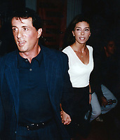 1982 <br /> Sylvester Stallone Jennifer Flavin<br /> Photo By John Barrett-PHOTOlink.net/MediaPunch
