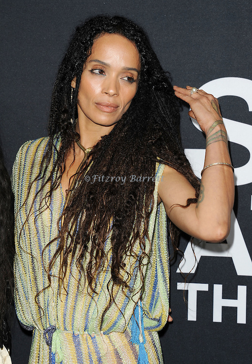 2Lisa Bonet arriving at Saint Laurent at the Palladium fashion event Los Angeles, Ca. February 10, 2016