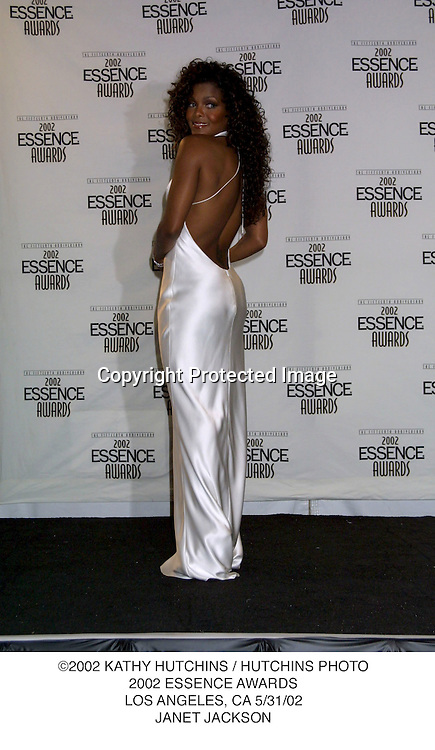 ©2002 KATHY HUTCHINS / HUTCHINS PHOTO.2002 ESSENCE AWARDS.LOS ANGELES, CA 5/31/02.JANET JACKSON