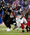 31 December 2006: Buffalo Bills cornerback Terrence McGee (24) in action during a game against the Baltimore Ravens at M&T Bank Stadium in Baltimore, Maryland. The Ravens defeated the Bills 19-7. Mandatory Photo Credit: Ed Wolfstein Photo.<br />