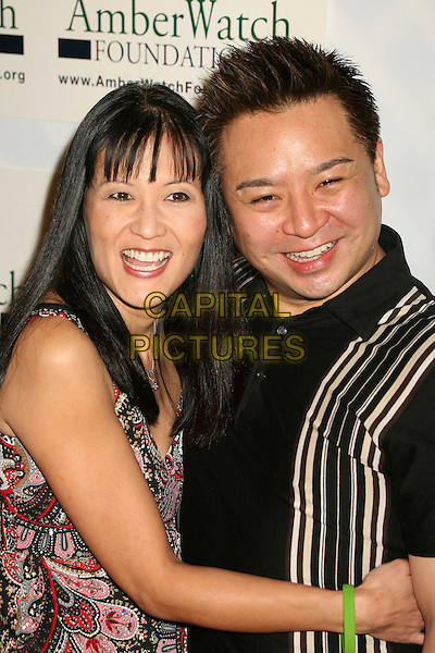 "SUZANNE WHANG & REX LEE.""Protecting Kids With Laughter"" AmberWatch Benefit at the Original Improv, Hollywood, California, USA..January 29th, 2007.half length .CAP/ADM/BP.©Byron Purvis/AdMedia/Capital Pictures"