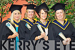 General Nursing graduates pictured at the ITT graduations in the Brandon Hotel on Friday, from left: Mairead O'Connor (Ballyduff), Elena O'Leary (Scartaglen), Norma O'Brien (Tralee), Stephanie Keane (Gneeveguilla).