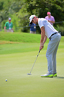 Thomas Pieters (BEL) watches his putt on 10 during round 3 of the World Golf Championships, Dell Technologies Match Play, Austin Country Club, Austin, Texas, USA. 3/24/2017.<br /> Picture: Golffile | Ken Murray<br /> <br /> <br /> All photo usage must carry mandatory copyright credit (&copy; Golffile | Ken Murray)