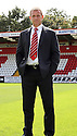 Stevenage manager Gary Smith. Stevenage FC photoshoot -  Lamex Stadium, Stevenage . - 16th August, 2012. © Kevin Coleman 2012