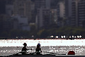Hiroshi Nakano &amp; Hideki Omoto (JPN), <br /> AUGUST 11, 2016 - Rowing : <br /> Women's Lightweight Double Sculls Semi-fainal <br /> at Lagoa Stadium <br /> during the Rio 2016 Olympic Games in Rio de Janeiro, Brazil. <br /> (Photo by Sho Tamura/AFLO SPORT)