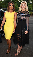 Rebekah Vardy and Nicola McLean at the  TV Choice Awards at the Dorchester Hotel, Park Lane, London on September 10th 2018<br /> CAP/ROS<br /> &copy;ROS/Capital Pictures